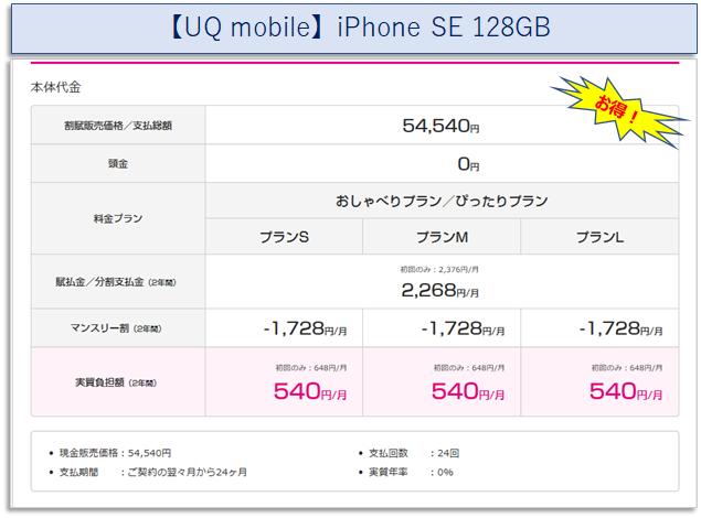 iPhone SE(128GB)
